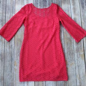 Lily Pulitzer Crochet Dress